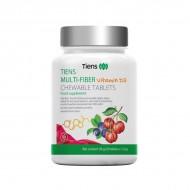 "Tiens ""Multi Fiber"" kramtomosios tabletės su vitaminu D3 60 tablečių"